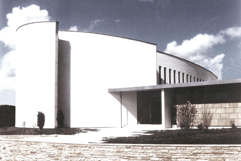 Neubau Kirchengebäude in Ansbach, Ansicht