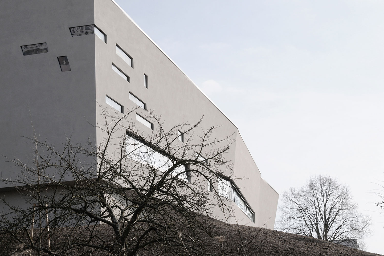 Neubau Kirchengebäude Bruchsal, Fassadenausschnitt