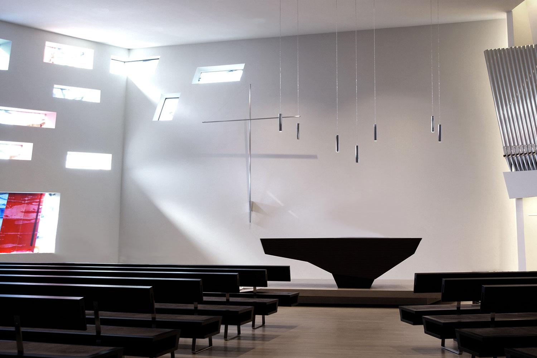 Neubau Kirchengebäude Bruchsal, Kirchenraum