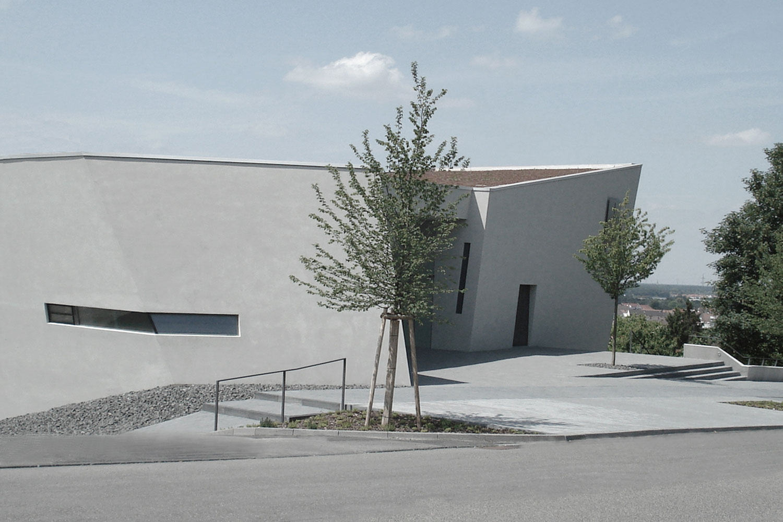 Neubau Kirchengebäude Bruchsal, Kirchplatz