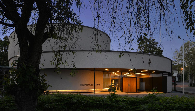 Neubau Kirchengebäude Ditzingen, Ansicht