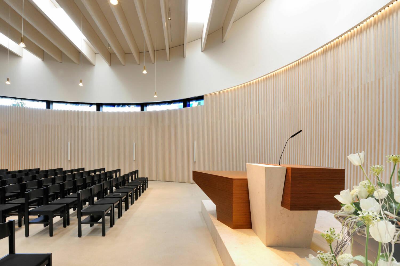 Neubau Kirchengebäude Ditzingen, Kirchraum