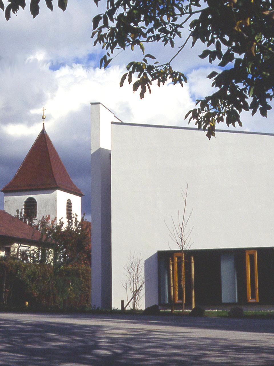 Umbau und Erweiterung Kirche Steinheim an der Murr, Ansicht