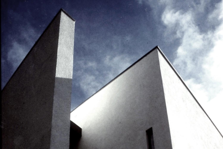 Umbau und Erweiterung Kirche Steinheim an der Murr, Fassadendetail