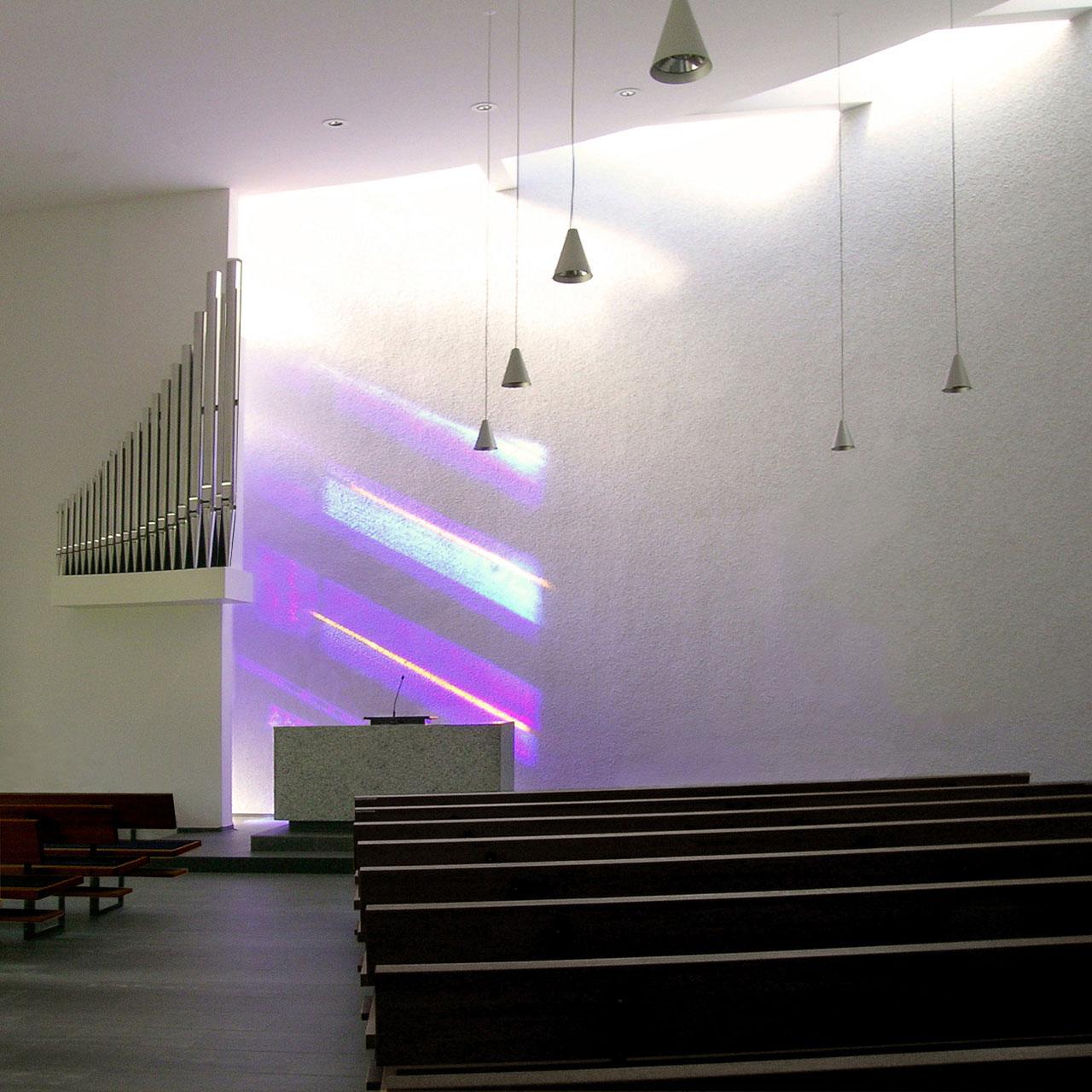 Umbau und Erweiterung Kirche Steinheim an der Murr, Kirchraum