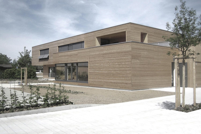 Neubau Kleinkindbetreuung Mutlangen, Eingang