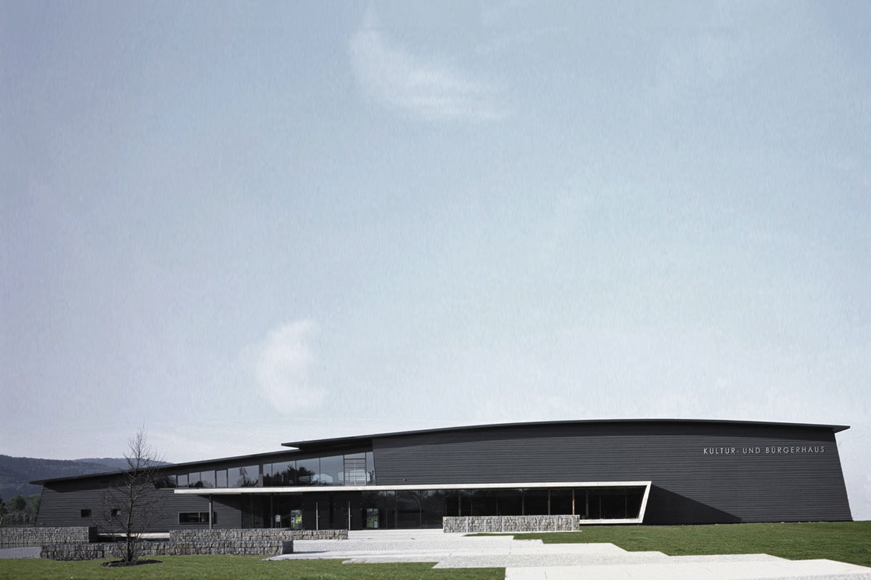 Neubau Kultur- und Bürgerhaus Denzlingen, Eingang