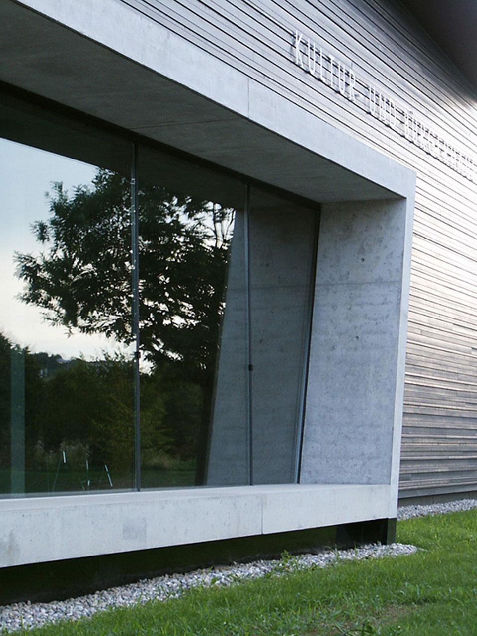 Neubau Kultur- und Bürgerhaus Denzlingen, Fassadenausschnitt