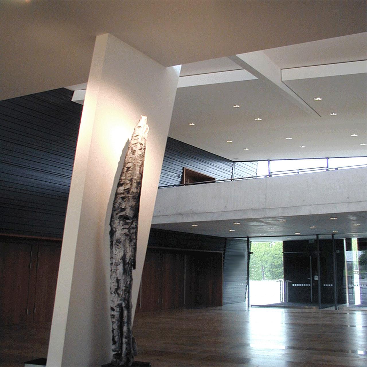 Neubau Kultur- und Bürgerhaus Denzlingen, Foyer Impression