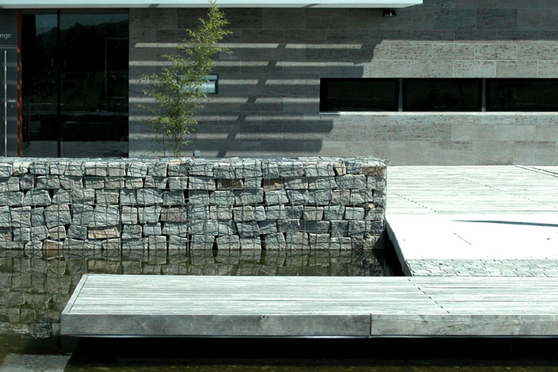 Neubau Kultur- und Bürgerhaus Denzlingen, Materialität Aussen