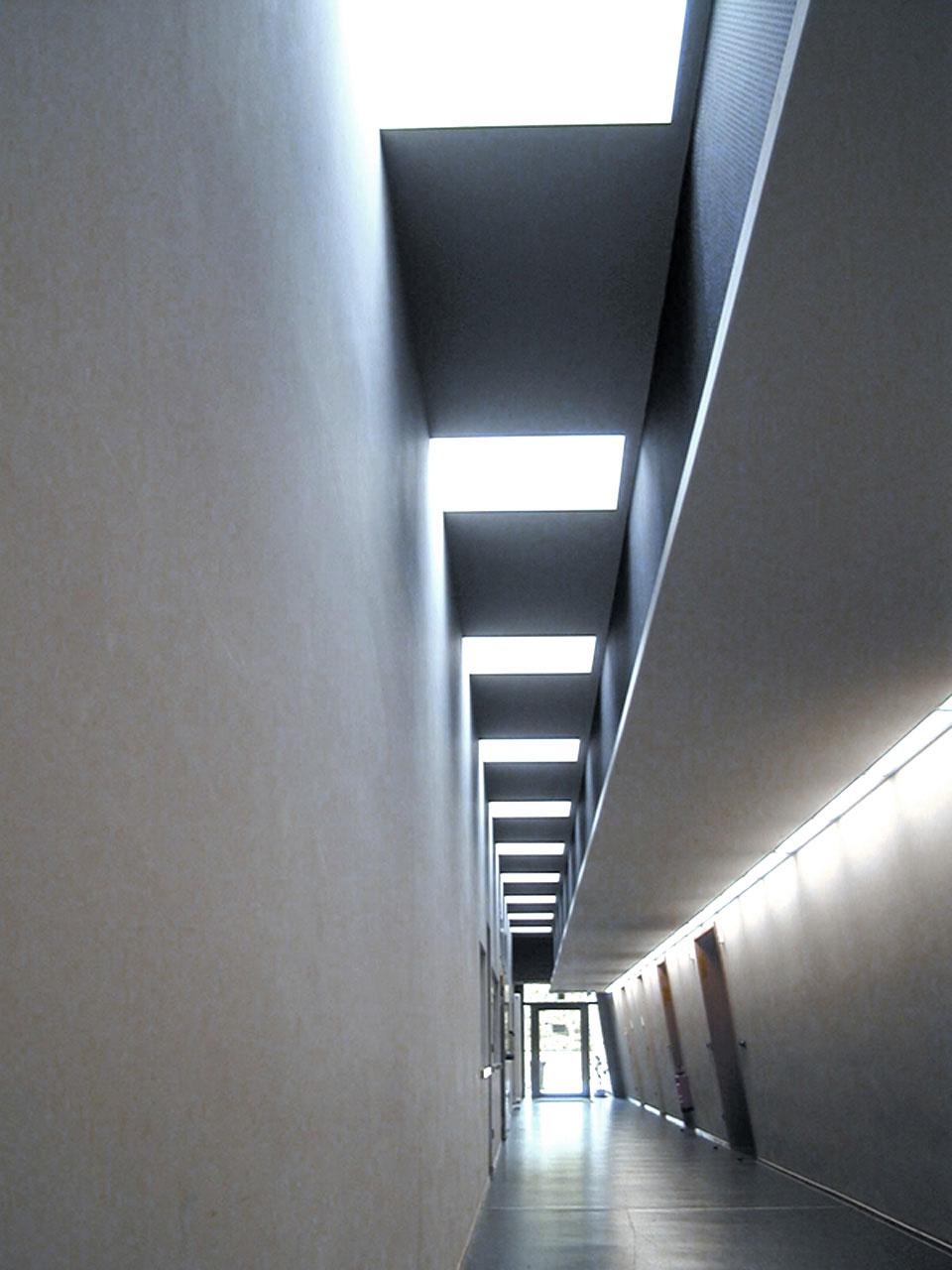 Neubau Kultur- und Bürgerhaus Denzlingen, Versorgungsgang
