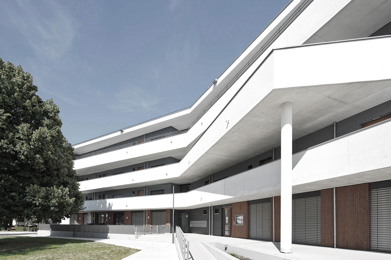 """Neubau Quartier """"Sommerhof"""" Denzlingen, Aussenansicht"""