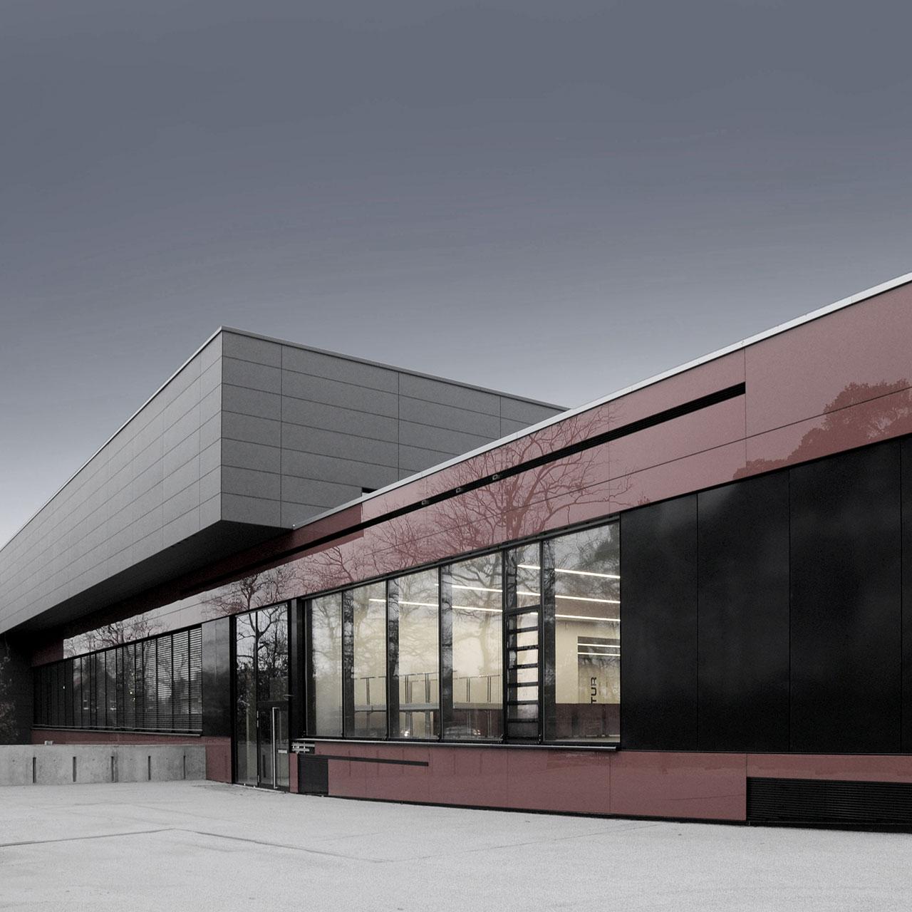 Neubau Sport- und Kulturzentrum Walldorf, Ansicht