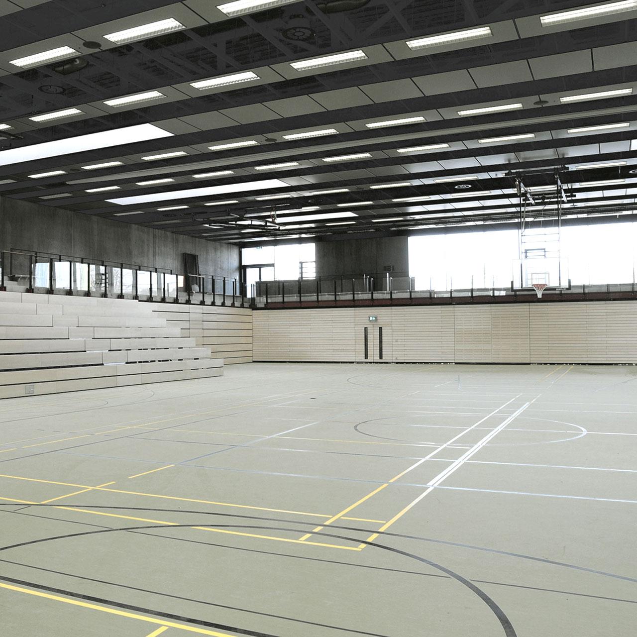 Neubau Sport- und Kulturzentrum Walldorf, Halle