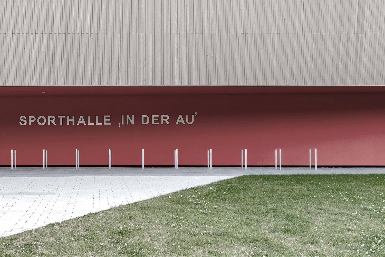 Neubau Sporthalle Sigmaringendorf, Ansicht