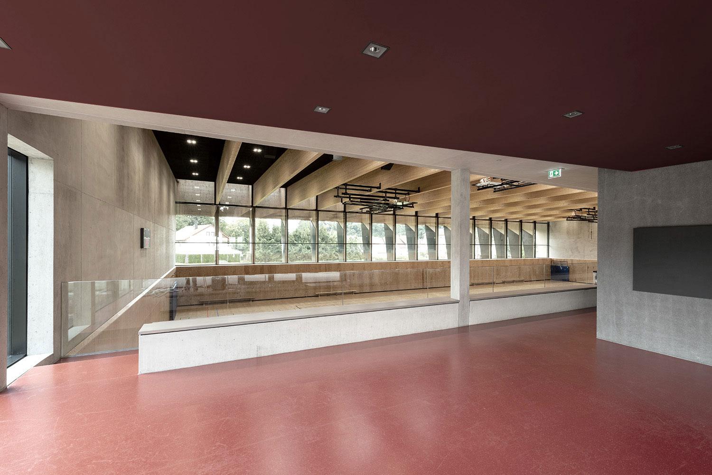 Neubau Sporthalle Sigmaringendorf, Galerie