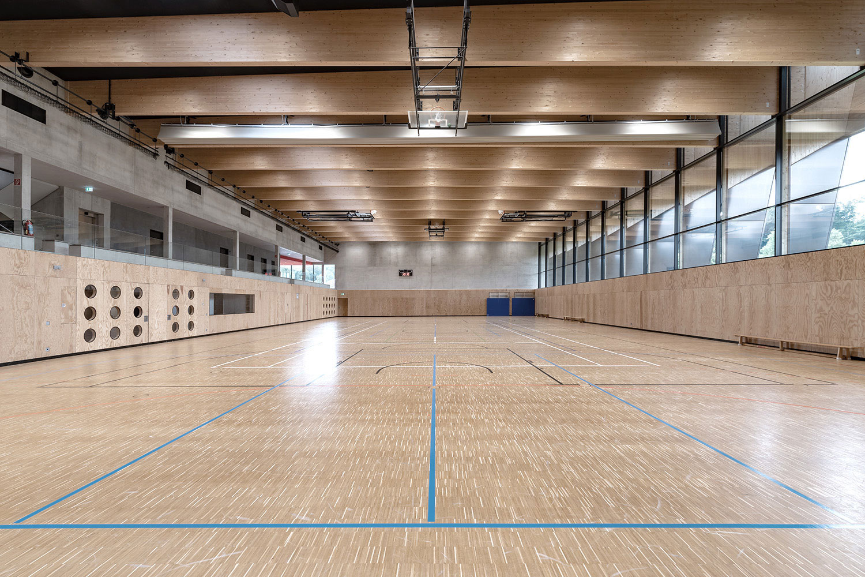 Neubau Sporthalle Sigmaringendorf, Halle