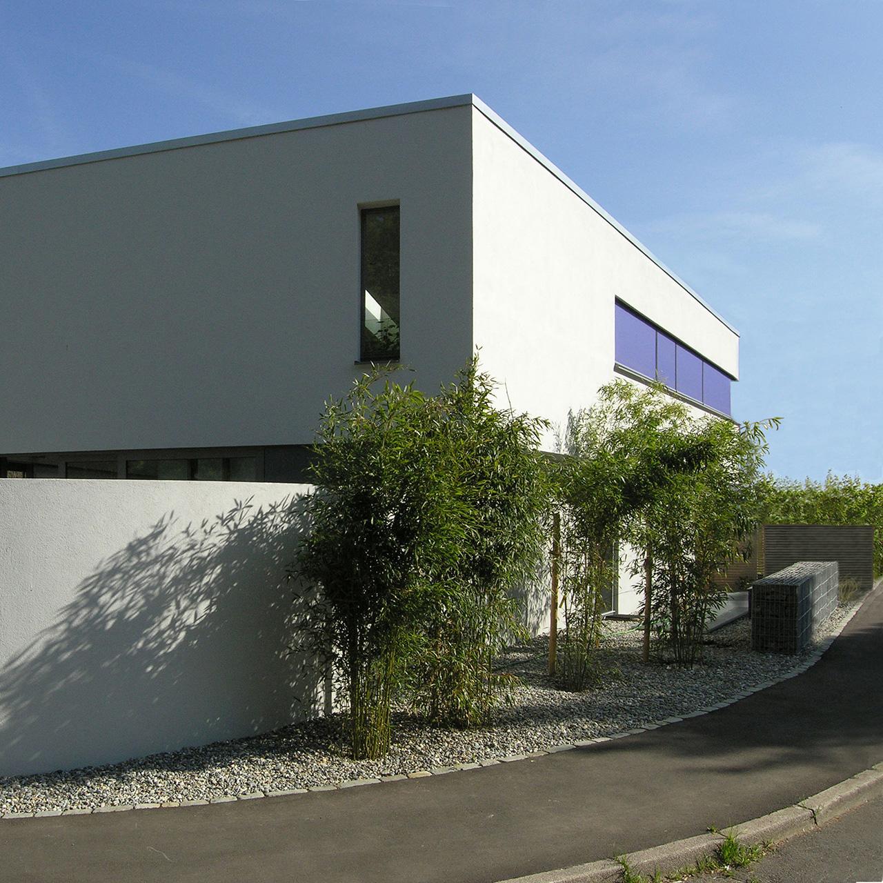 Neubau Wohnhaus Stuttgart-Vaihingen, Ansicht