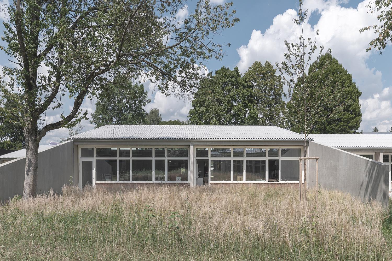 Sanierung und Erweiterung Sonnenlugerschule Mengen, Ansicht Klassenzimmer Bestand