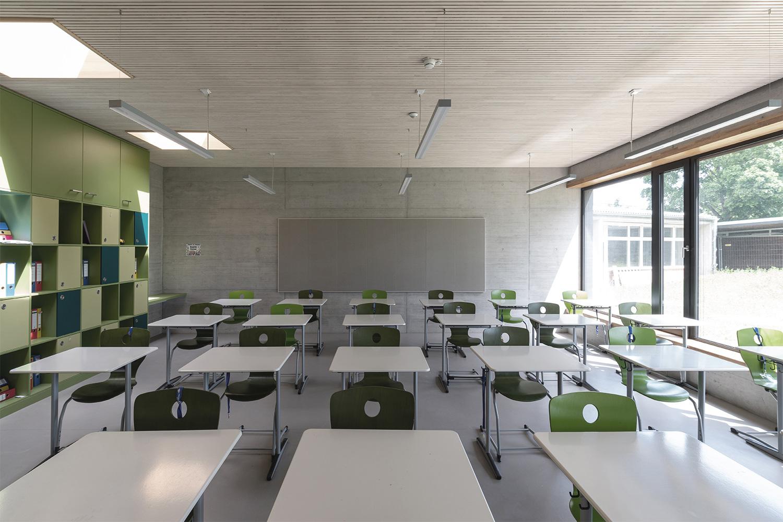 Sanierung und Erweiterung Sonnenlugerschule Mengen, Klassenzimmer