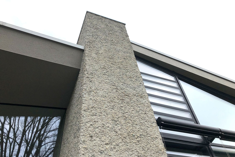 Sanierung und Modernisierung Haus Z Mössingen, Fassadendetail