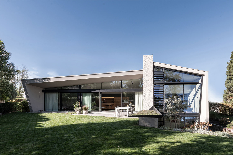 Sanierung und Modernisierung Haus Z Mössingen, Gartenansicht