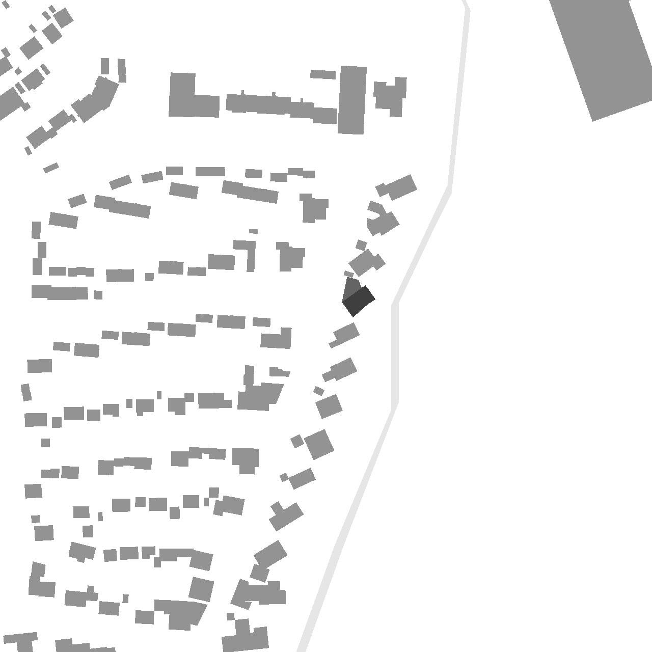 Sanierung und Modernisierung Haus Z Mössingen, Lageplan