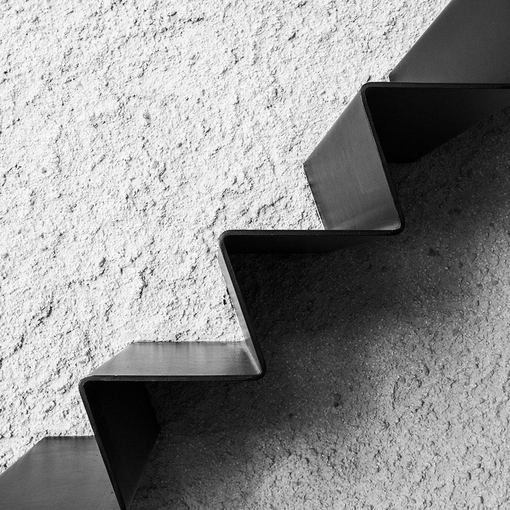 Sanierung und Modernisierung Haus Z Mössingen, Treppendetail