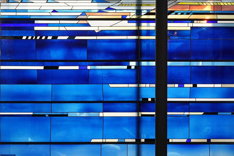 Umbau und Erweiterung Kirche Stuttgart-Degerloch, Glaskunst