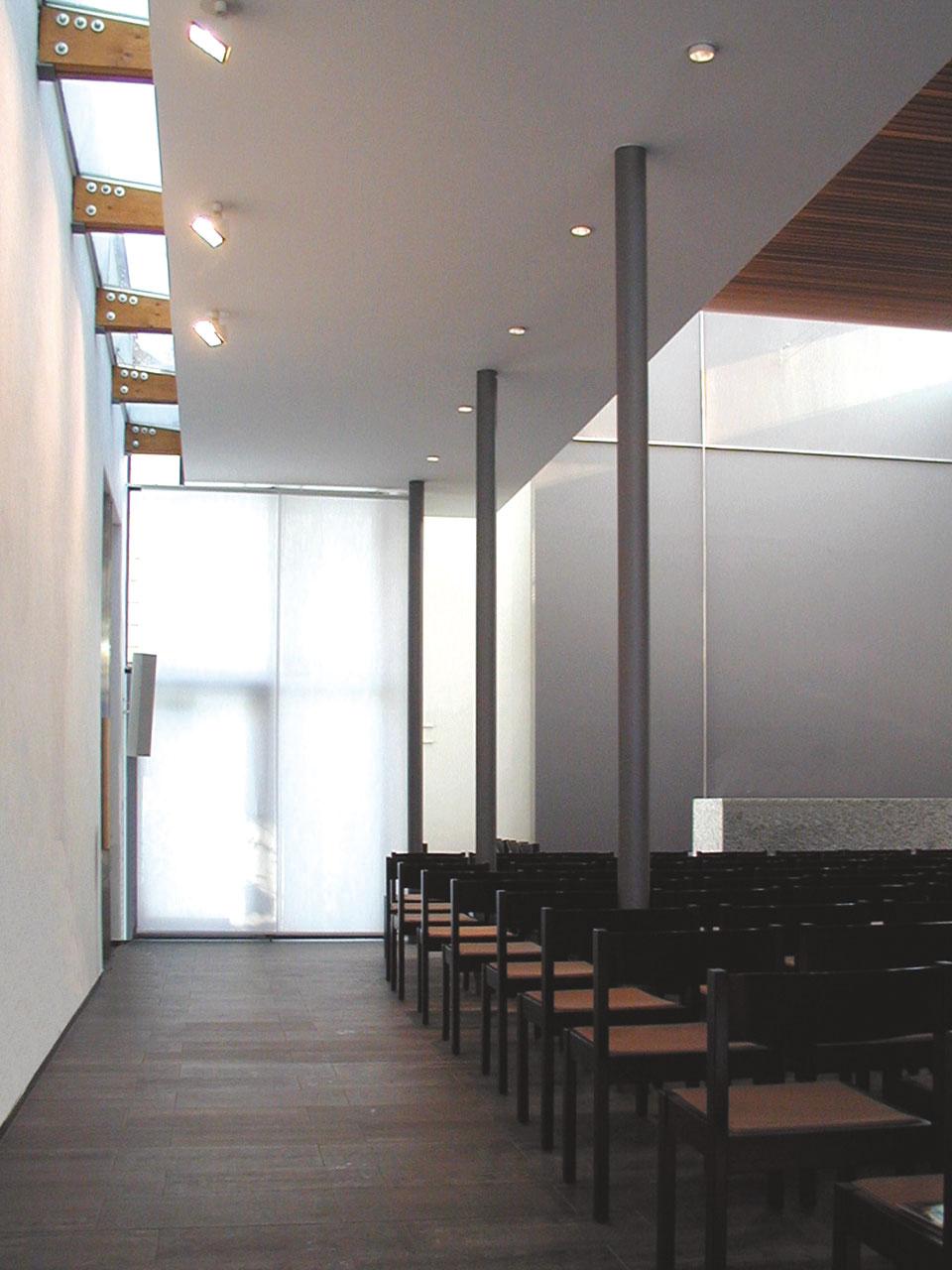 Umbau und Erweiterung Kirche Stuttgart-Degerloch, Kirchraum