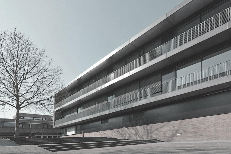 Umbau und Erweiterung Realschulen am Neckar Nürtingen, Ansicht 3