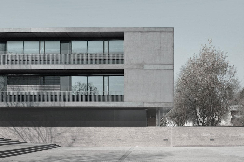 Umbau und Erweiterung Realschulen am Neckar Nürtingen, Ansicht