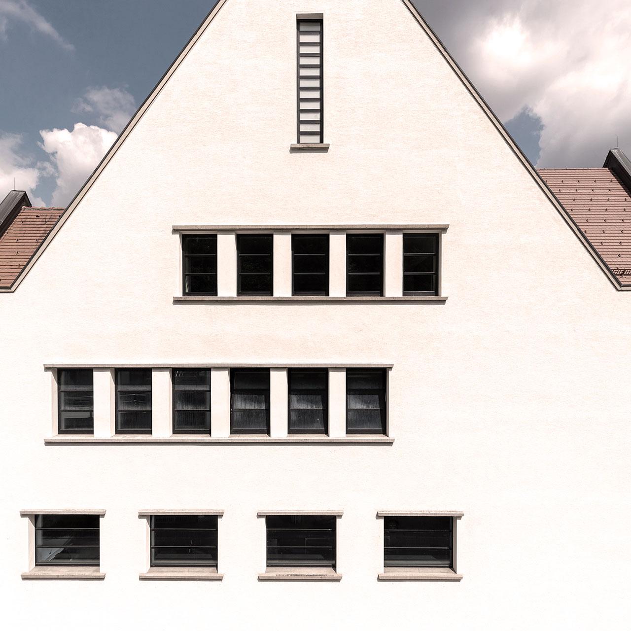 Umbau und Erweiterung Stadthalle Sigmaringen, Ausschnitt Altbau