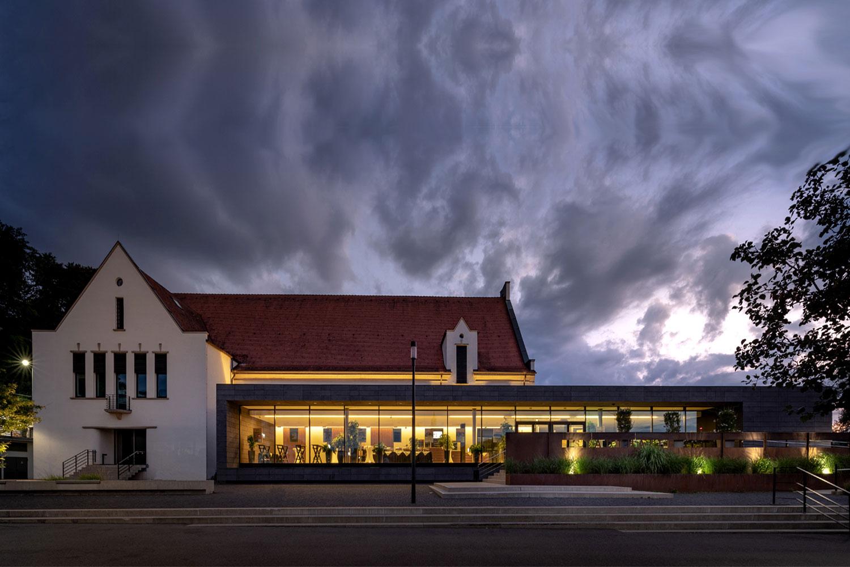 Umbau und Erweiterung Stadthalle Sigmaringen, Gesamtansicht