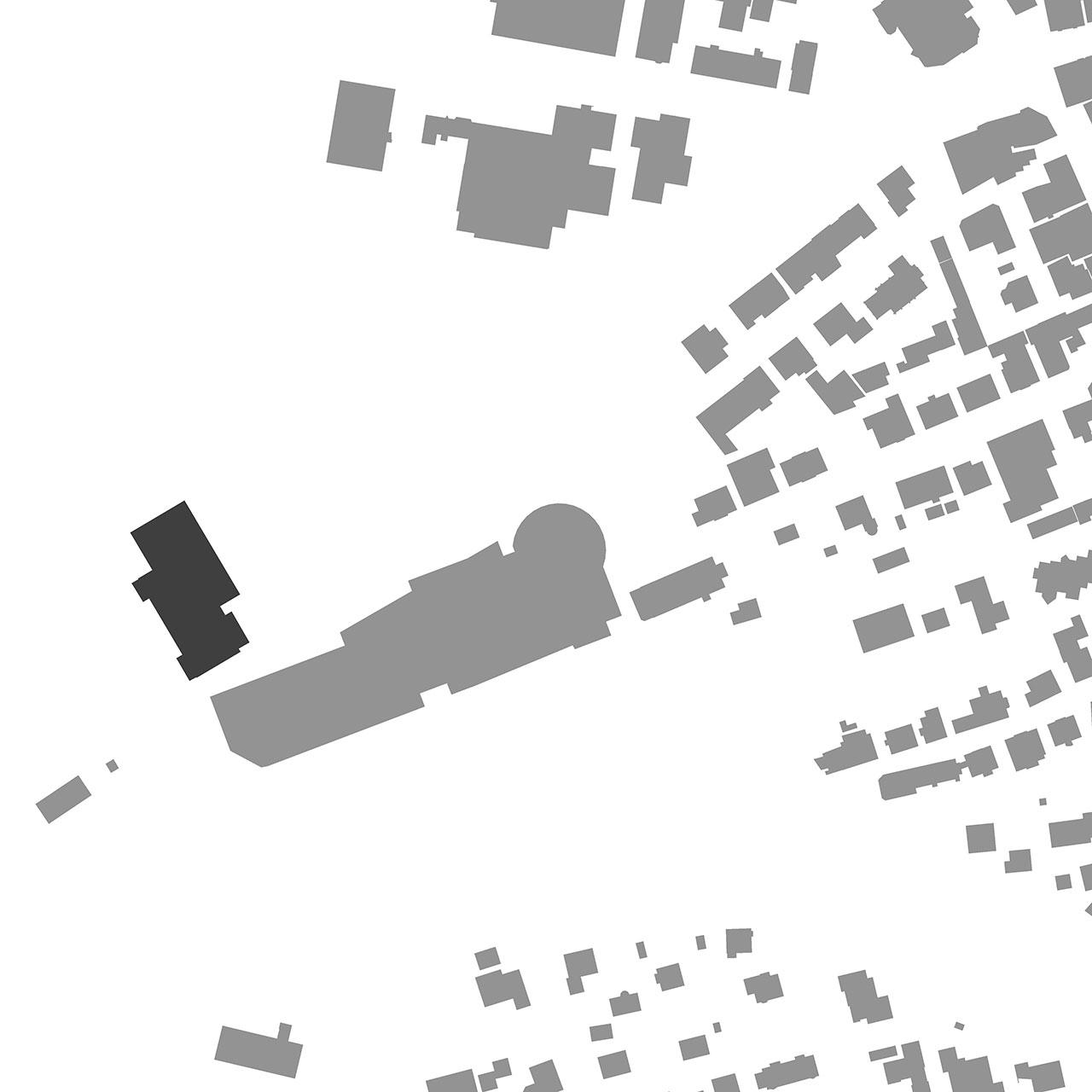 Umbau und Erweiterung Stadthalle Sigmaringen, Lageplan