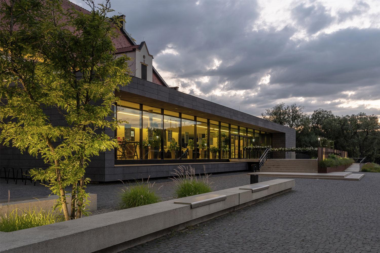 Umbau und Erweiterung Stadthalle Sigmaringen, Zugang Foyer