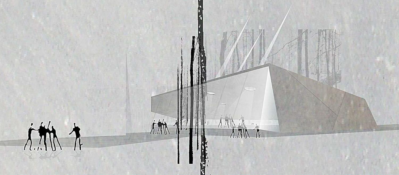 Wettbewerb Carl-Orff Museum Dießen, Perspektive