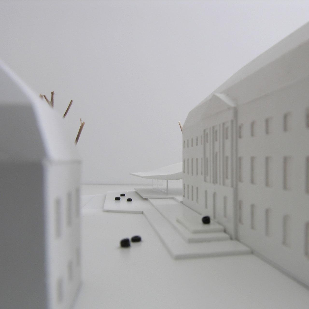 Wettbewerb Nachhaltige Sanierung Landtagsgebäude Rheinland-Pfalz, Modell