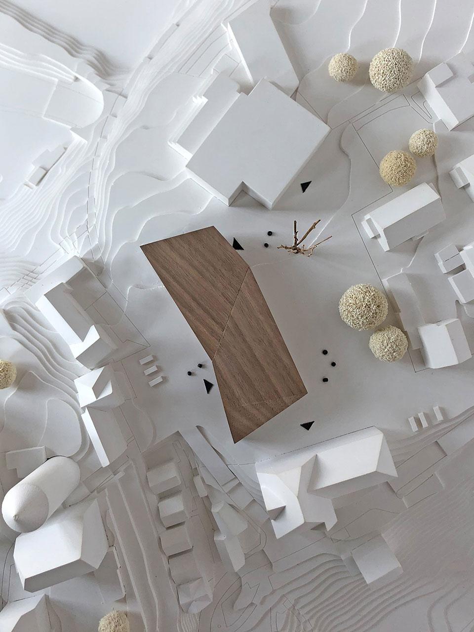 Wettbewerb Neubau Friedrich-Schelling-Schule Bietigheim-Bissingen, Modell