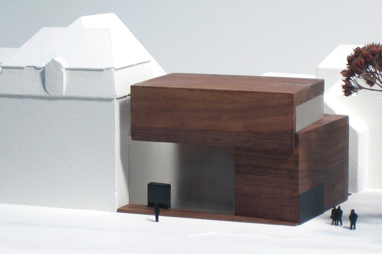 Wettbewerb Neubau Jüdisches Museum Franken in Fürth, Modell