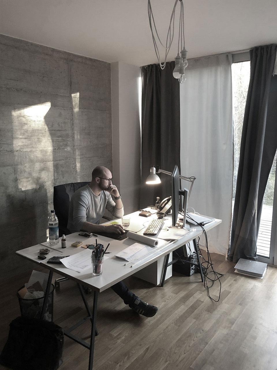 Arbeitsathmosphäre